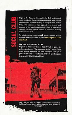 Red Dead Redemption Social Club