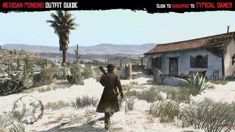 Red Dead Redemption - Mexican Poncho Outfit Guide (HD 720p)