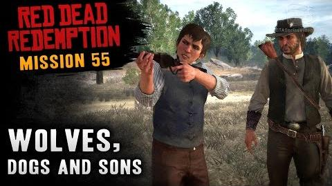 Red Dead Redemption - Mission 55 - Wolves, Dogs and Sons (Xbox One)