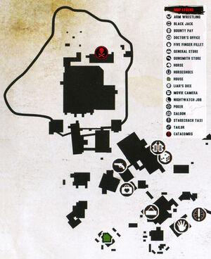 Rdr escalera catacombs map