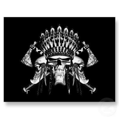Native american skulls