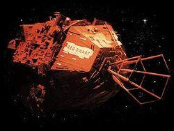 RedDwarf spaceship