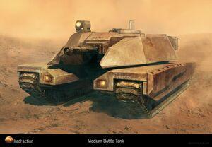 EDF Medium Tank Concept Art