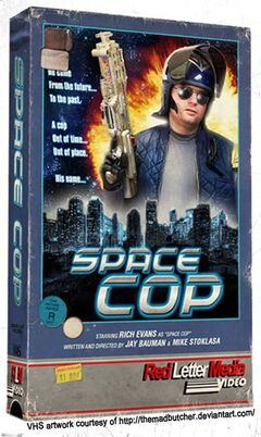 SpaceCop-TheMadButcherVHS-2016