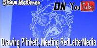 Drawing Plinkett, Meeting RedLetterMedia