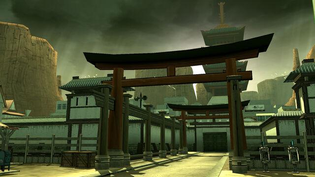 File:Red steel gate bridge.jpg