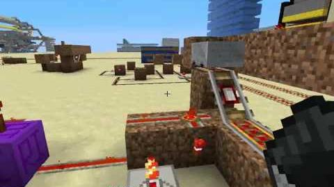 Concepting redstone 2 Minecart T flipflop