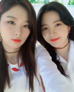 Seulgi and Yeri Instagram Update