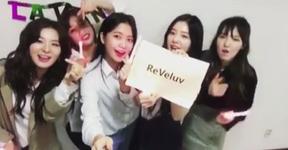 Red Velvet reveal fandom name as ReVeluv
