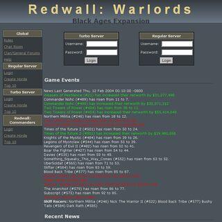 Redwall: Warlords circa 2004