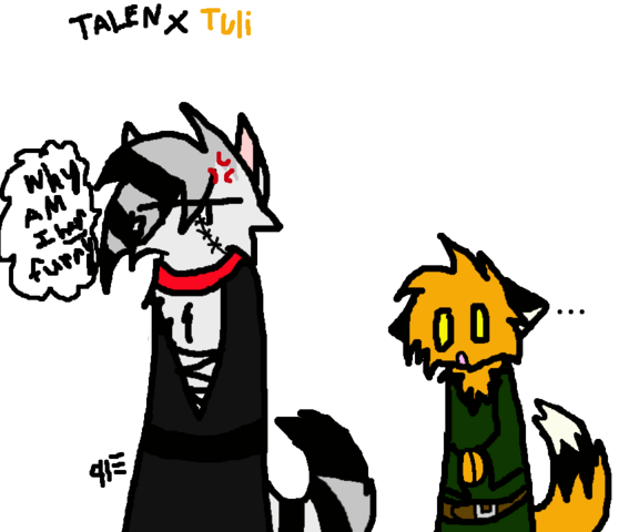 File:Talen Silverflash and Tuli by Riftgard Princess.png