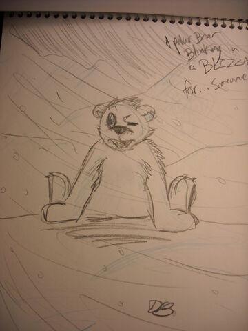 File:A Polar Bear Blinking in a Blizzard.jpg