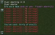 Army of One Ice Damage