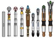 Sonic screwdrivers by cosmicthunder-d46bbej