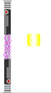 Electro doubkle lightsaber by jedimsieer