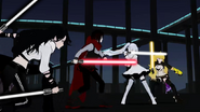 Rwby star wars team rwby with lightsabers by raidenraider-dal65cr