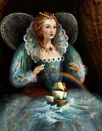 Queen Elizabeth - Painting
