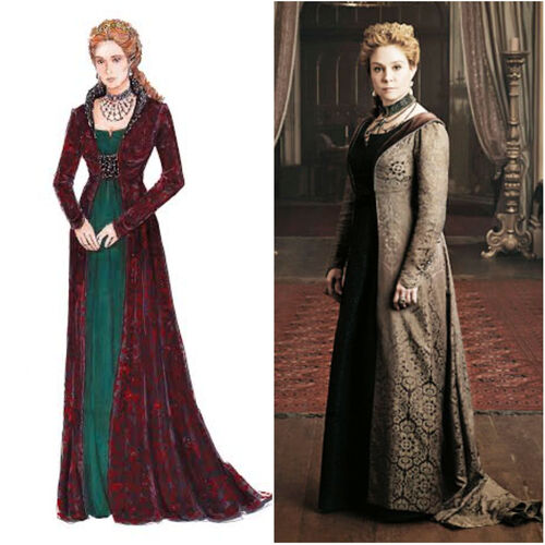 Fashion Style's of Reign 7