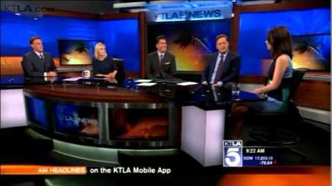 Adelaide Kane on KTLA morning news 22 09 2014-1
