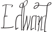 Edward Tudor signature