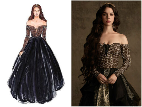 Fashion Style's of Reign 4