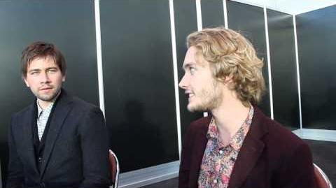 2013 NYCC Interview w Toby Regbo and Torrance Coombs