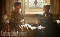 Queen Catherine and Elizabeth1