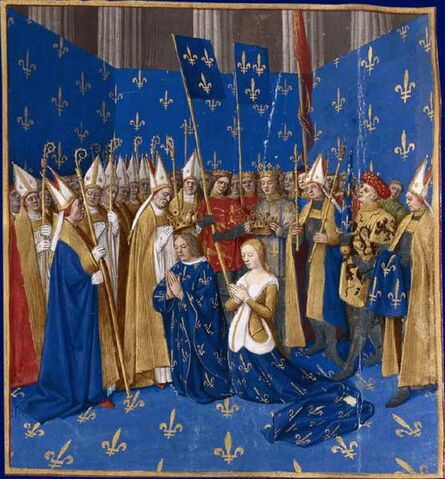 File:Coronation of Louis VIII and Blanche of Castille 1223.jpg