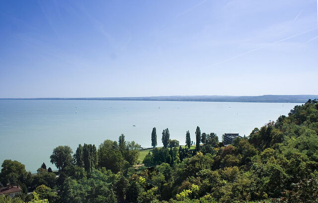 File:1024px-Lake Balaton at Tihany, Hungary.jpg