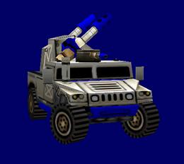 American Avenger Humvee