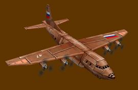 AN-12 Cub Render