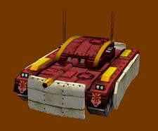 Eurasian Armoured Osorio Tank