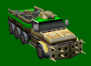 GLRF Supply Truck New Armour