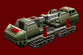 Chinese Flame Cannon Undeployed