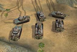 Panther Artillery Ingame