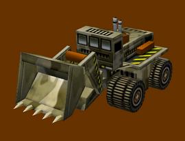 MEA Pakistan Bulldozer