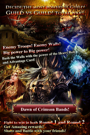 Dawn of Crimson Bands 4 Collage Ad