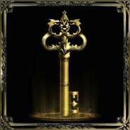Gold Key Bordered