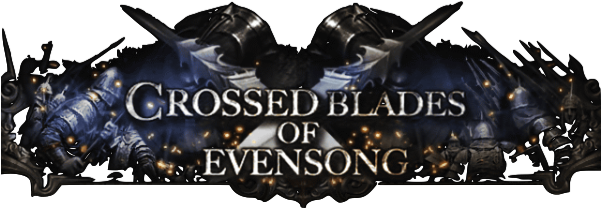 Crossed Blades of Evensong MAIN Banner