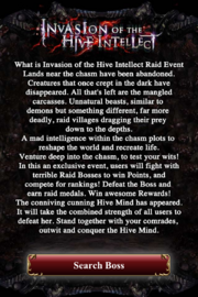 Invasion of the Hive Intellect Intro