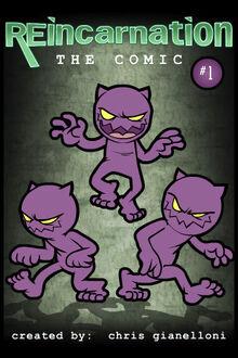 Reincarnation comic cover