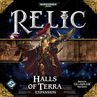 Halls of Terra Box Art
