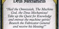 Deus Mechanicus