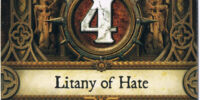 Litany of Hate (X2)