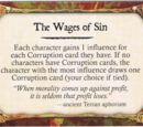 The Wages of Sin (X2)