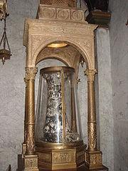 Monti - santa Prassede colonna flagellazione 01396
