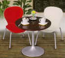 Cafe Tables - 1 - cherry and vanilla