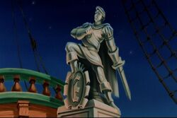 Prince Eric's statue
