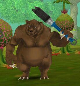 Contaminated Bear