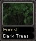 Forest Dark Trees
